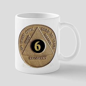 6 YEAR COIN Mug
