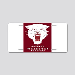 Greeley Wildcats Forever! Aluminum License Plate