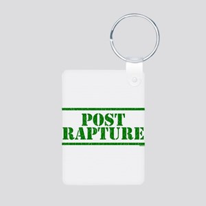 Post Rapture Aluminum Photo Keychain