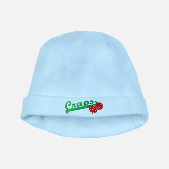 I Love Craps baby hat