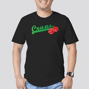 I Love Craps Men's Fitted T-Shirt (dark)