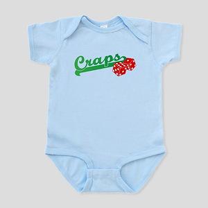 I Love Craps Infant Bodysuit