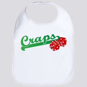 I Love Craps Bib