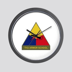 The Armor School Wall Clock