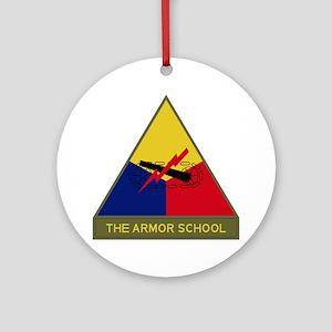 The Armor School Ornament (Round)