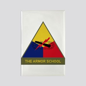 The Armor School Rectangle Magnet