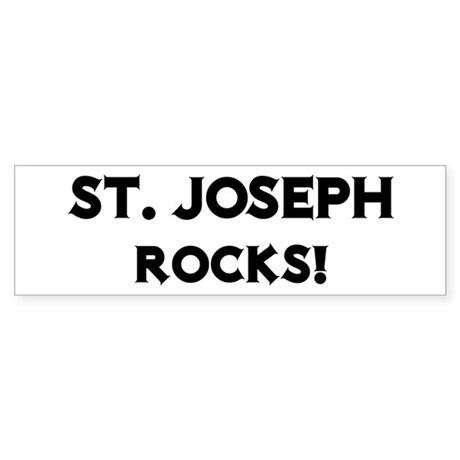 St. Joseph Rocks! Bumper Sticker