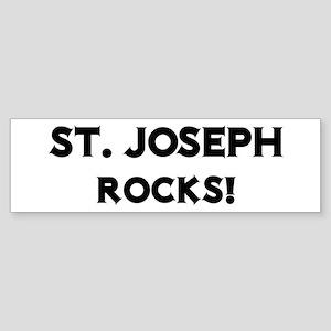 St. Joseph Rocks! Bumper Sticker