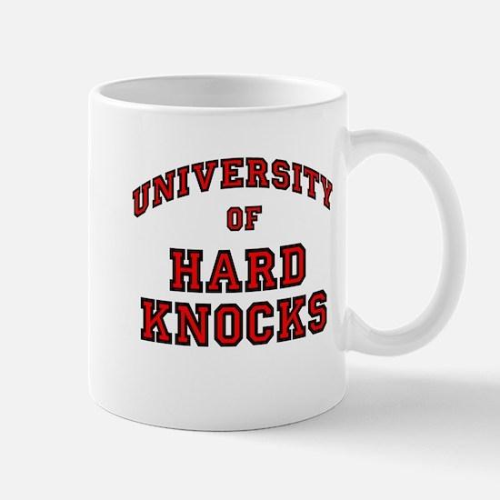 University Hard Knocks Mug