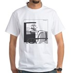 Llamish (no text) White T-Shirt