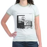 Llamish (no text) Jr. Ringer T-Shirt