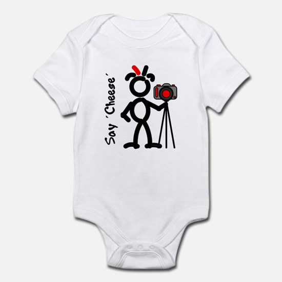 Red SayCheese2 Infant Bodysuit
