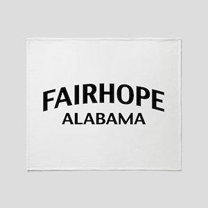 Fairhope Alabama Throw Blanket