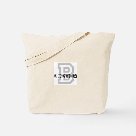 Letter B: Boston Tote Bag