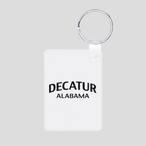 Decatur Alabama Aluminum Photo Keychain