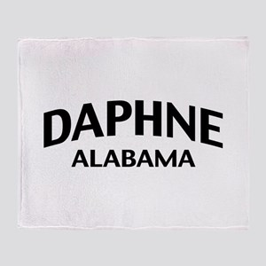 Daphne Alabama Throw Blanket