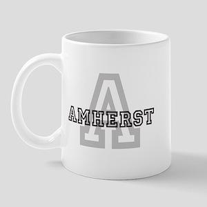 Letter A: Amherst Mug
