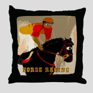 Hay Burner Acres Throw Pillow