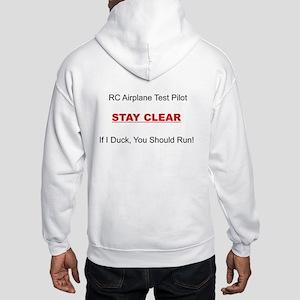 RC Airplane Test Pilot Hooded Sweatshirt