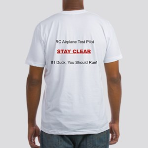 RC Airplane Test Pilot Fitted T-Shirt