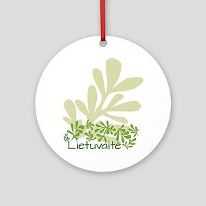 Lietuvaite Rue Design Ornament (Round)