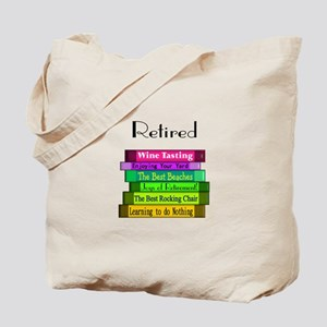 Retired Professionals Tote Bag