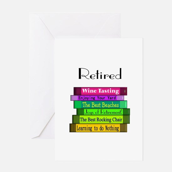 Retired Professionals Greeting Card