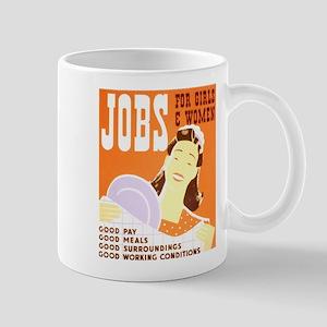 WPA Jobs for Women Mug