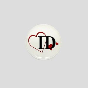 Love ID Idaho Hearts Mini Button