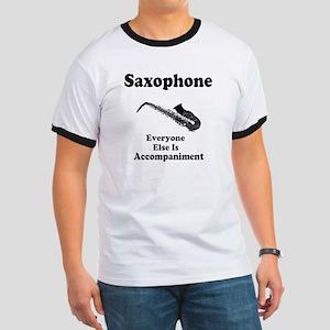 Saxophone Gift Ringer T