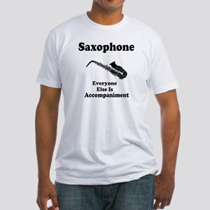 Saxophone Gift Fitted T-Shirt