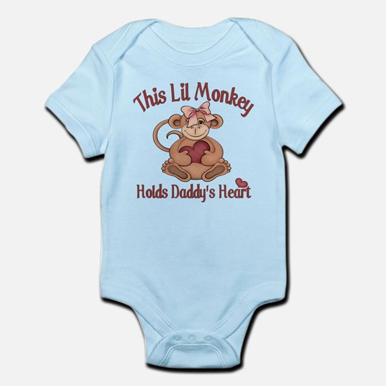 This lil monkey Infant Bodysuit