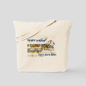 Derby Mania Tote Bag