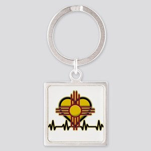 FEEL THE HEARTBEAT ZIA Keychains