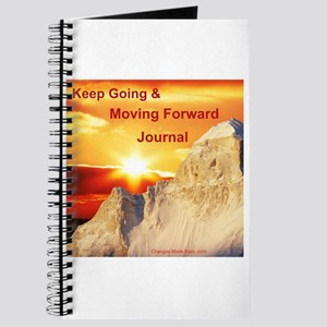 Keep Going & Moving Forward Journal