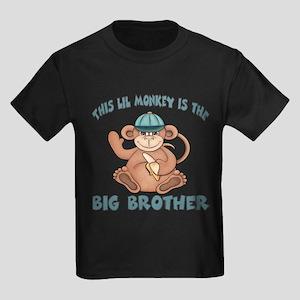 Big brother monkey Kids Dark T-Shirt