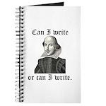 "Shakespeare ""Can I Write..."" Journal"