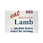 Slam in the Lamb Rectangle Magnet (10 pack)