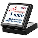 Slam in the Lamb Keepsake Box