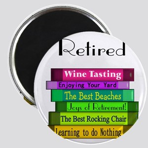 Retired Professionals Magnets