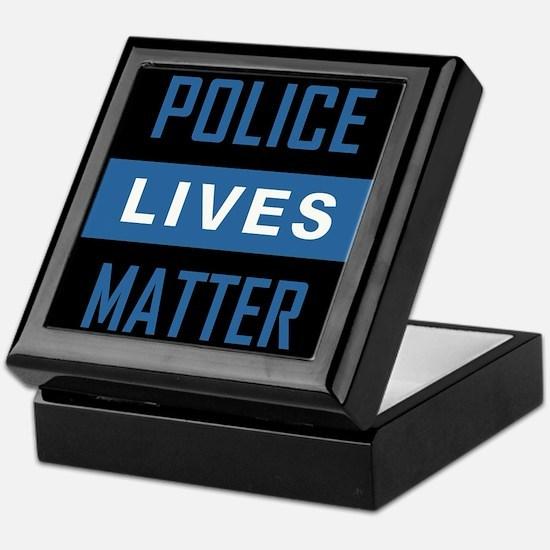 POLICE LIVES MATTER Keepsake Box