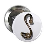 """S Brooch 2.25"""" Button (10 pack)"""