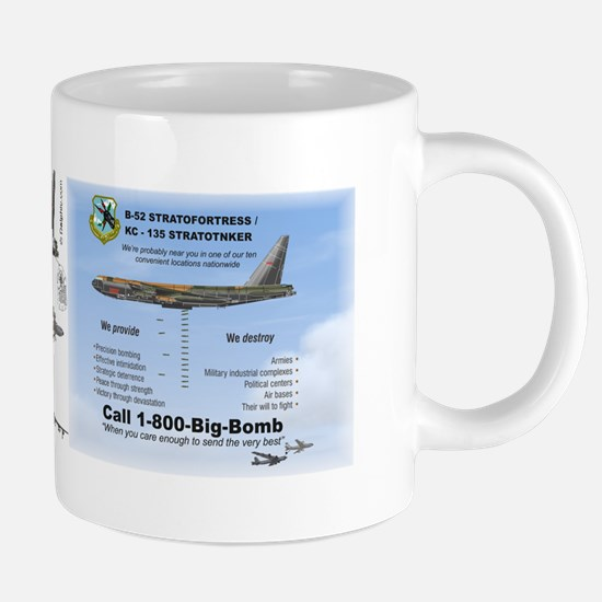 B-52 Statofortress dropping 20 oz Ceramic Mega Mug