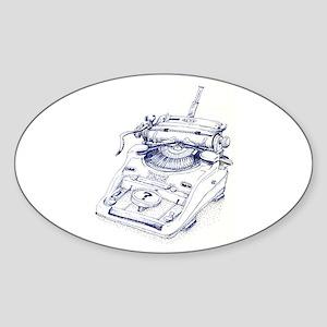 Seinsmaschine Sticker (Oval)