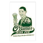 Obama's Irish Pub Postcards (Package of 8)