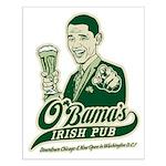 Obama's Irish Pub Small Poster