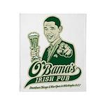 Obama's Irish Pub Throw Blanket