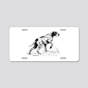 Pointer Aluminum License Plate