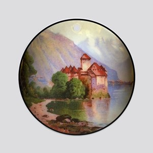 Chateau Chillon Ornament (Round)