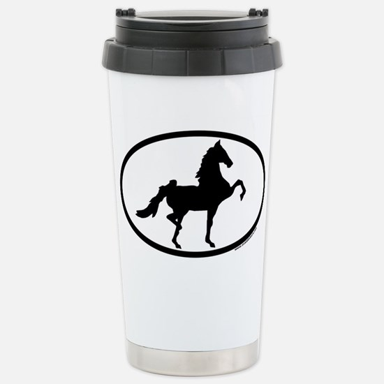 Unique Saddlebred Travel Mug